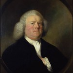 colour portrait of William Boyce, attributed to Mason Chamberlain. Royal College of Music