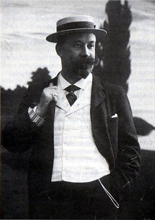 b&w photograph of Abraham_Ojanperä, circa 1905
