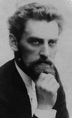 black & white had and shoulders portrait of Robert Kajanus (n.d.)