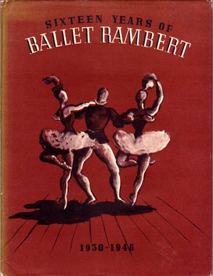 Fig x. Sixteen Years of Ballet Rambert - front dust jacket.