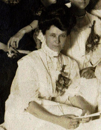 B&W photograph of Hedwig Wille [after 1903?]